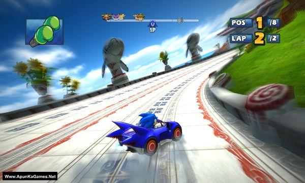 Sonic & Sega All-Stars Racing Screenshot 3, Full Version, PC Game, Download Free