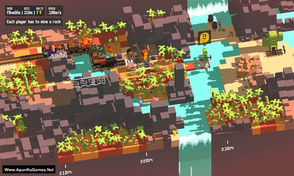 Unrailed Screenshot 1, Full Version, PC Game, Download Free