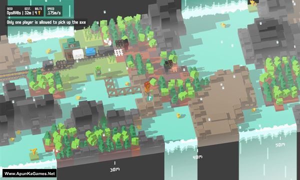 Unrailed Screenshot 2, Full Version, PC Game, Download Free