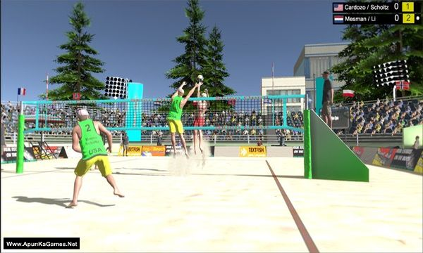 Volleyball Unbound: Pro Beach Volleyball Screenshot 1, Full Version, PC Game, Download Free