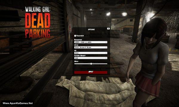 Walking Girl: Dead Parking Screenshot 2, Full Version, PC Game, Download Free