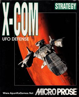 X-COM: UFO Defense Cover, Poster, Full Version, PC Game, Download Free