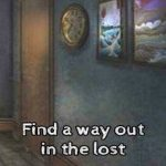 Find a way out in the lost