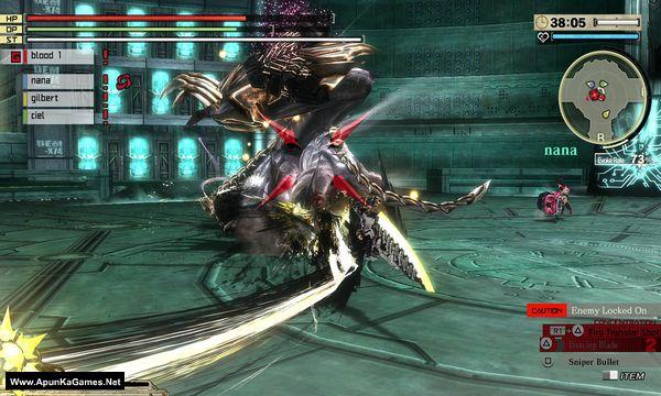 God Eater 2 Rage Burst Screenshot 1, Full Version, PC Game, Download Free