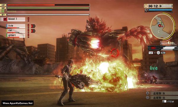 God Eater 2 Rage Burst Screenshot 3, Full Version, PC Game, Download Free