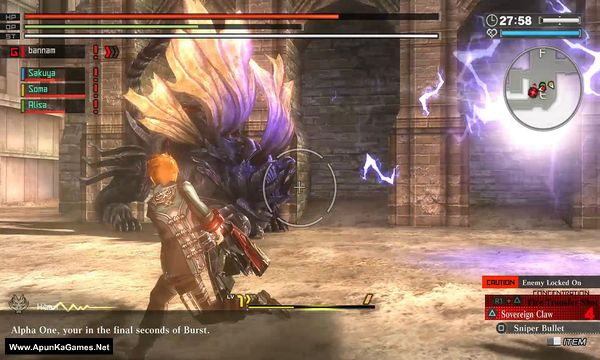 God Eater Resurrection Screenshot 3, Full Version, PC Game, Download Free