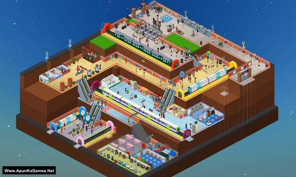 Overcrowd: A Commute 'Em Up Screenshot 2, Full Version, PC Game, Download Free