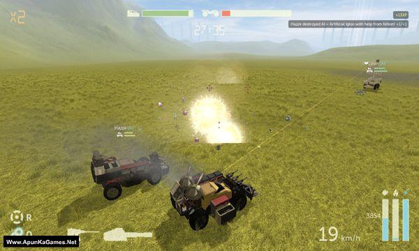 Scraps: Modular Vehicle Combat Screenshot 1, Full Version, PC Game, Download Free