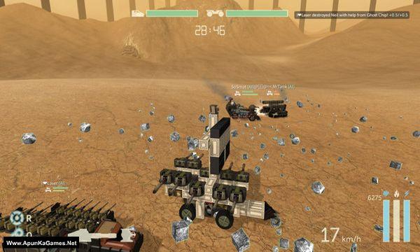 Scraps: Modular Vehicle Combat Screenshot 2, Full Version, PC Game, Download Free