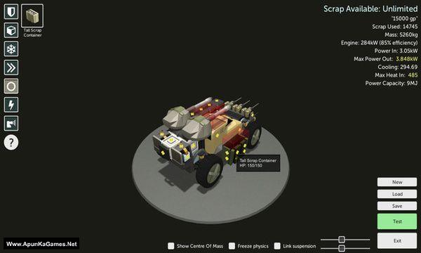 Scraps: Modular Vehicle Combat Screenshot 3, Full Version, PC Game, Download Free