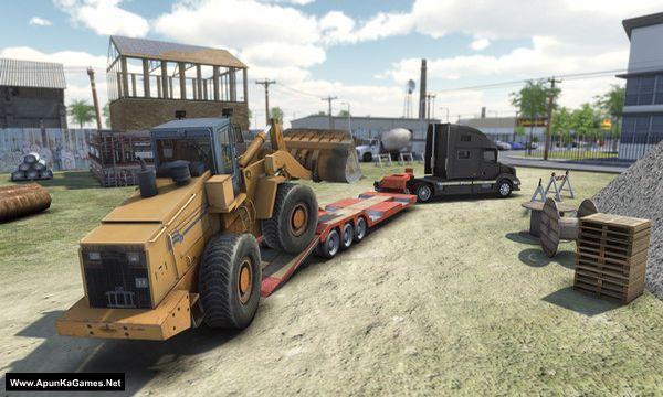 Truck and Logistics Simulator Screenshot 1, Full Version, PC Game, Download Free
