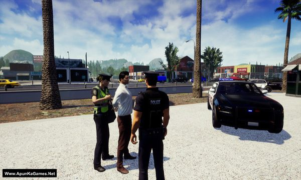 Police Simulator: Patrol Duty Screenshot 1, Full Version, PC Game, Download Free