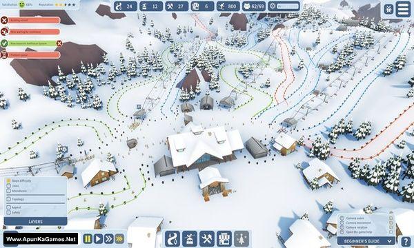 Snowtopia: Ski Resort Tycoon Screenshot 1, Full Version, PC Game, Download Free