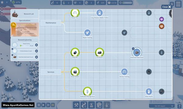 Snowtopia: Ski Resort Tycoon Screenshot 2, Full Version, PC Game, Download Free