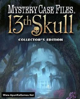 Mystery Case Files: 13th Skull Collector's Edition Cover, Poster, Full Version, PC Game, Download Free