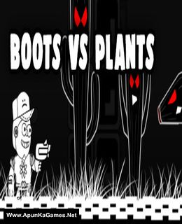 Boots Versus Plants Cover, Poster, Full Version, PC Game, Download Free