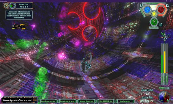 Cyclotronica Screenshot 2, Full Version, PC Game, Download Free