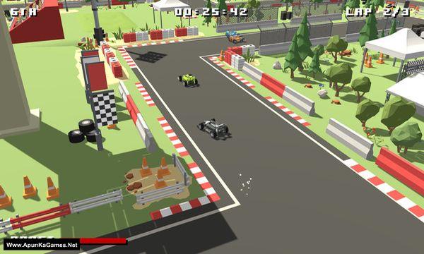 Formula Bit Racing Screenshot 1, Full Version, PC Game, Download Free