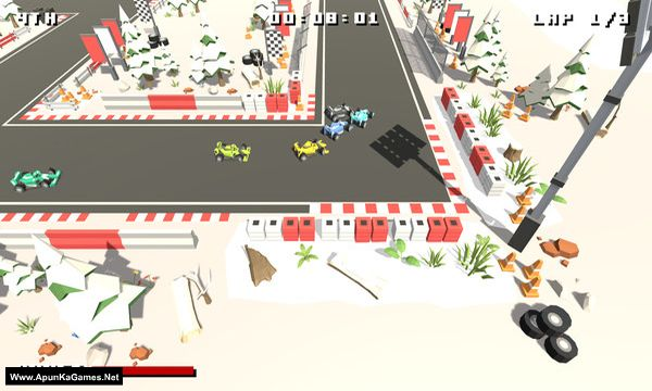 Formula Bit Racing Screenshot 2, Full Version, PC Game, Download Free