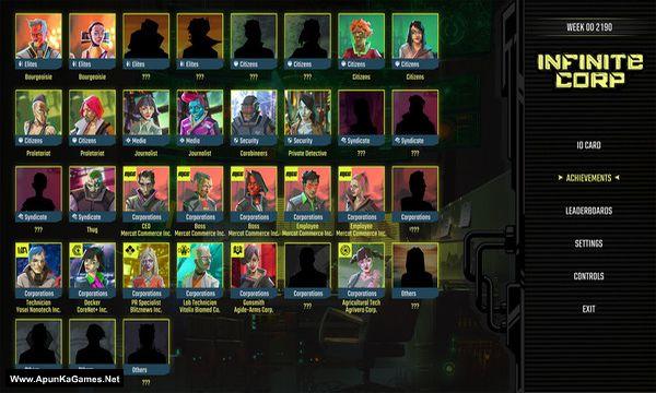 InfiniteCorp: Cyberpunk Revolution Screenshot 2, Full Version, PC Game, Download Free