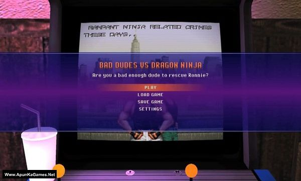 Retro Classix: Bad Dudes Screenshot 2, Full Version, PC Game, Download Free