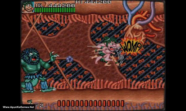 Retro Classix: Joe and Mac - Caveman Ninja Screenshot 3, Full Version, PC Game, Download Free