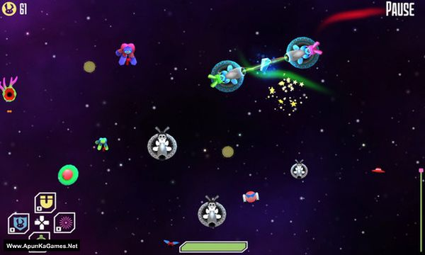 RoboBunnies In Space! Screenshot 1, Full Version, PC Game, Download Free