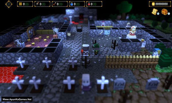 Dungeon and Gravestone Screenshot 1, Full Version, PC Game, Download Free