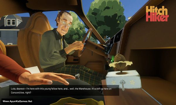Hitchhiker: A Mystery Screenshot 1, Full Version, PC Game, Download Free