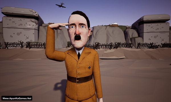 Inglorious Waifu VS Nazi Zombies Screenshot 1, Full Version, PC Game, Download Free