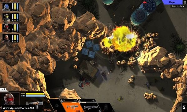 Tactical Troops: Anthracite Shift Screenshot 1, Full Version, PC Game, Download Free