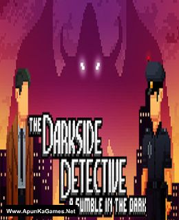 The Darkside Detective: A Fumble in the Dark Cover, Poster, Full Version, PC Game, Download Free