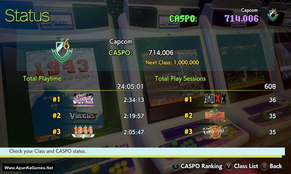 Capcom Arcade Stadium Screenshot 3, Full Version, PC Game, Download Free