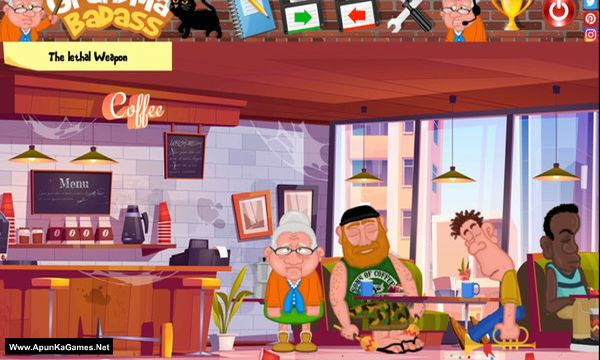 GrandMa Badass Screenshot 1, Full Version, PC Game, Download Free