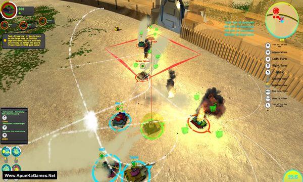 MECHA AND TANK FIGHTING Screenshot 1, Full Version, PC Game, Download Free