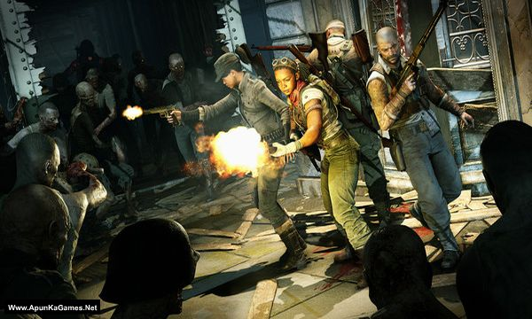Zombie Army 4: Dead War Screenshot 1, Full Version, PC Game, Download Free