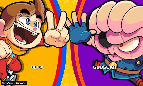 Alex Kidd in Miracle World DX Screenshot 1, Full Version, PC Game, Download Free