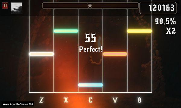 Rhythmetallic Screenshot 1, Full Version, PC Game, Download Free