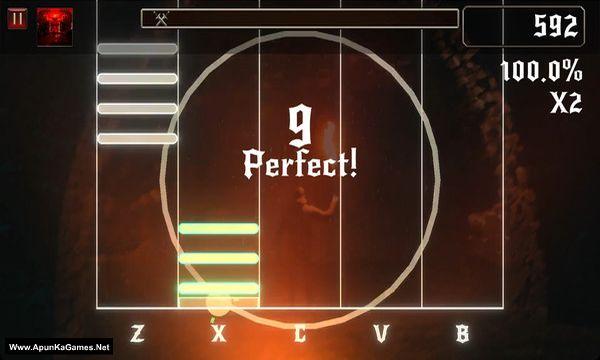 Rhythmetallic Screenshot 3, Full Version, PC Game, Download Free