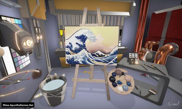SuchArt: Genius Artist Simulator Screenshot 1, Full Version, PC Game, Download Free