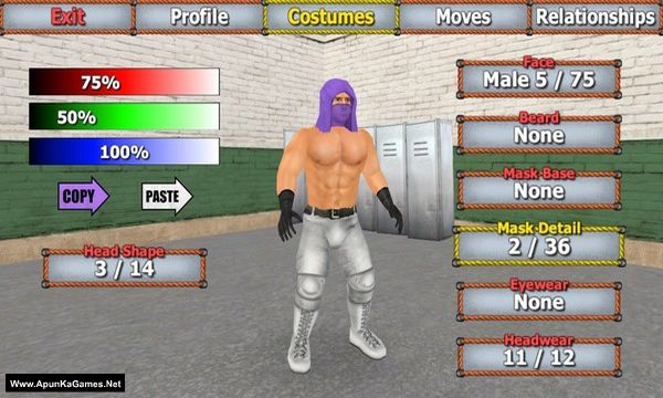 Wrestling Empire Screenshot 3, Full Version, PC Game, Download Free
