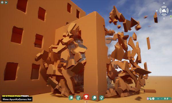 Destruction Time! Screenshot 1, Full Version, PC Game, Download Free