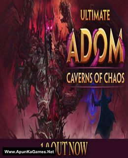 Ultimate ADOM: Caverns of Chaos Cover, Poster, Full Version, PC Game, Download Free