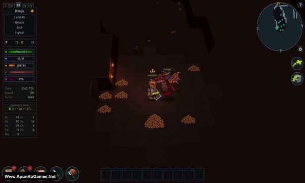 Ultimate ADOM: Caverns of Chaos Screenshot 3, Full Version, PC Game, Download Free