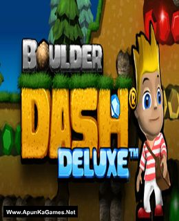 Boulder Dash Deluxe Cover, Poster, Full Version, PC Game, Download Free