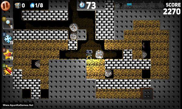 Boulder Dash Deluxe Screenshot 1, Full Version, PC Game, Download Free