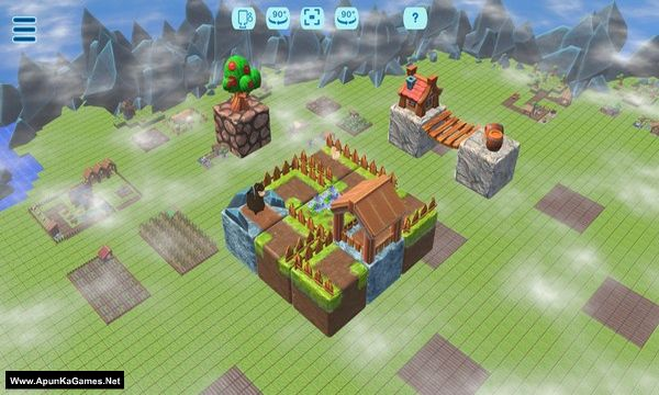 Floating Farmer - Logic Puzzle Screenshot 1, Full Version, PC Game, Download Free