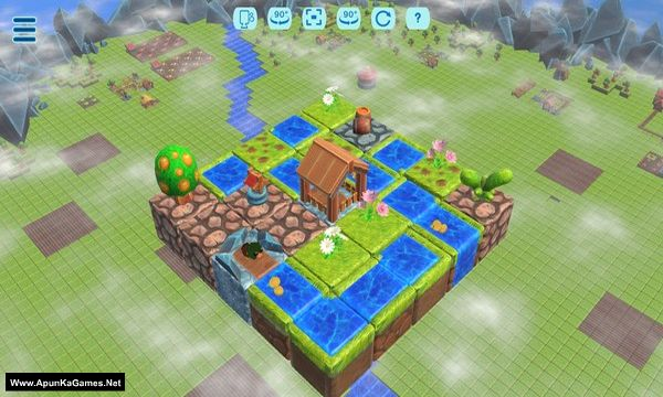 Floating Farmer - Logic Puzzle Screenshot 3, Full Version, PC Game, Download Free