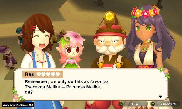 Harvest Moon: One World Screenshot 1, Full Version, PC Game, Download Free