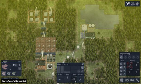 Reactor Tech 2 Screenshot 1, Full Version, PC Game, Download Free